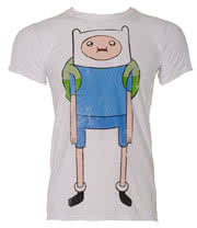 Adventure Time Finn T Shirt (White)