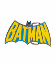 DC Comics Batman Retro Buckle