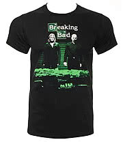 Breaking Bad Container Stash T Shirt (Black)