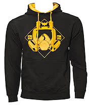 Breaking Bad Mask Hoodie (Black)
