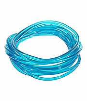 Blue Banana Pack Of 12 Gummy Bracelets (Blue)