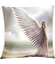 Nemesis Now Anne Stokes Spirit Guide Cushion (16 x 16 Inches)