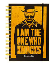 Breaking Bad I Am The One Who Knocks A5 Notebook