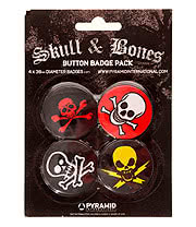 Skulls & Bones Badge Pack