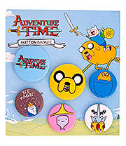 Adventure Time Jake Badge Set