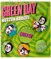 Green Day Badge Pack