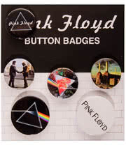 Pink Floyd Logo Badge Set
