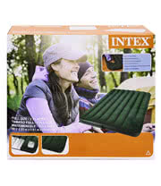 Intex Double Air Bed Easy Inflate (137 x 191 x 22cm)