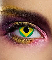EDIT 90 Day Flag Contact Lenses (Brazil)
