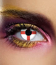 EDIT 90 Day Flag Contact Lenses (England)