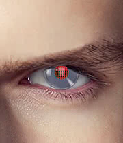 EDIT 1 Year Terminator Coloured Contact Lenses (Android)