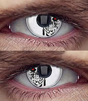 EDIT 1 Year Terminator Coloured Contact Lenses (Machine Head)