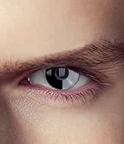 EDIT 1 Year Terminator Coloured Contact Lenses (Skynet)
