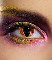 EDIT 90 Day Coloured Contact Lenses (Eye of Sauron)