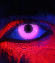 EDIT 90 Day I Glow UV Coloured Contact Lenses (UV Violet)