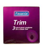 Pasante Trim Condoms (3 Pack)