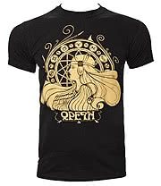 Opeth Zodiac T Shirt (Black)
