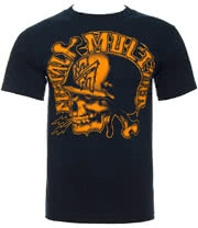 Metal Mulisha Deestroy T Shirt (Navy)