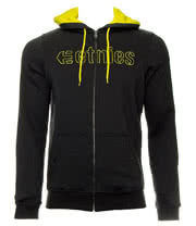Etnies Corp Stitch Zip Up Hoodie (Black)