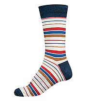 Globe Pin Line Socks (UK7 - UK11)