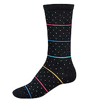 Globe Plus Dot Socks (Black)