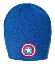 Marvel Comics Captain America Beanie (Blue)