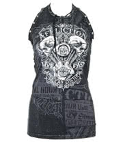 Affliction Death Eater Vest Top (Black)