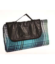 Waterproof Picnic Blanket 150cm X 130cm (Light Blue)