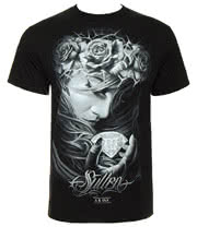 Sullen Diamond Dust T Shirt (Black)