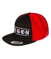 Sullen Town Snapback Hat (Black/Red)