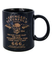 Avenged Sevenfold Seize The Day Mug (Black)