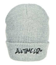 All Time Low Logo Beanie (Grey)