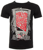 Fearless Vampire Killers Guillotine T Shirt (Black)