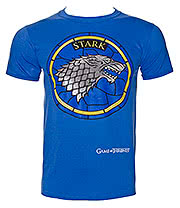 Game Of Thrones House Stark T Shirt (Blue)