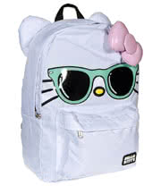 Loungefly Hello Kitty Sunglasses Backpack (White)