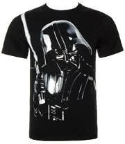 Star Wars Big Vader T Shirt (Black)