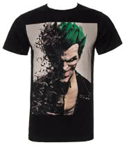 Batman Arkham Bad Joker T Shirt (Black)