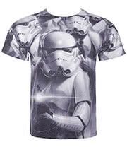 Star Wars Troopers Commando T Shirt (White)