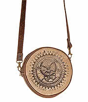 Alchemy Gothic Aetheric Inclinometer Attache Bag (Brown)