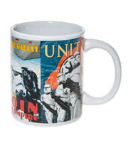 Star Wars Heroes & Villains Mug (White)