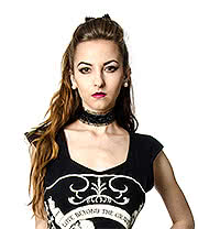 Golden Steampunk Trina Mercy Collar (Black)