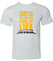 Monty Python Bright Side Of Life T Shirt (Grey)
