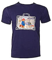 Paddington Bear Station T Shirt (Navy)
