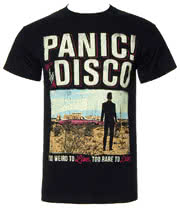 Panic! At The Disco Billboard T Shirt (Black)