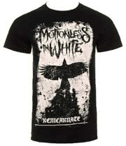 Motionless In White Phoenix T Shirt (Black)
