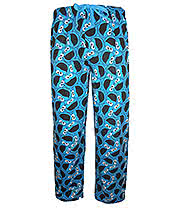 Sesame Street Cookie Monster Lounge Pants (Blue)