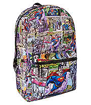 DC Comics Superman Fly Backpack (Multi Coloured)