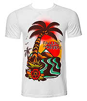 Falling In Reverse Island T Shirt (White)