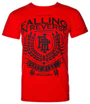 Falling In Reverse Royal T Shirt (Red)