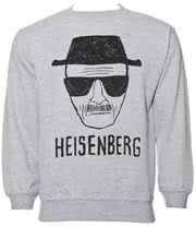 Breaking Bad Heisenberg Sweatshirt (Grey)